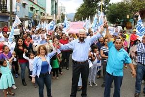 Juntos llegaremos a la presidencia municipal, Sergio Bello