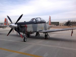 Aviones Texan T6-C levantan el vuelo por 484 años de la ciudad 2