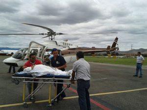 Ambulancia Aérea brinda 964 servicios de emergencia