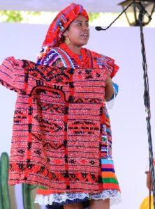 Bella representante de Jamiltepec, Diosa Centéotl 10