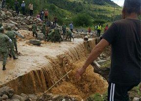 Se desbordan dos ríos en Oaxaca