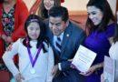 "Entrega diputada Elim medalla ""Juana Catalina Romero"""