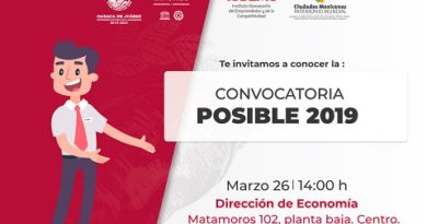 Invitan a conocer el programa POSIBLE 2019
