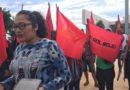 """Protestó """"Sol Rojo"""" en Ciudad Judicial"""