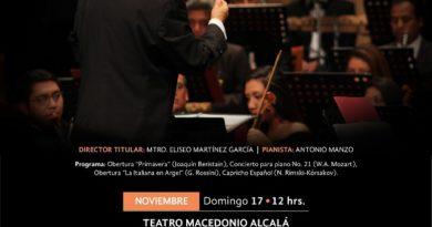 """La OSO en el teatro """"Macedonio Alcalá"""""""