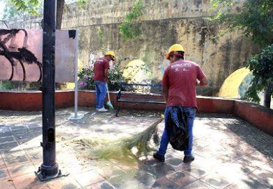 Rescatan más espacios públicos